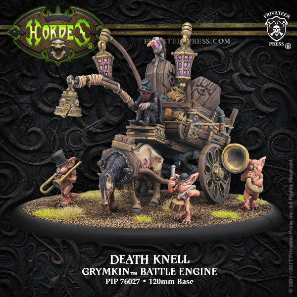 Hordes Grymkin Death Knell Battle Engine
