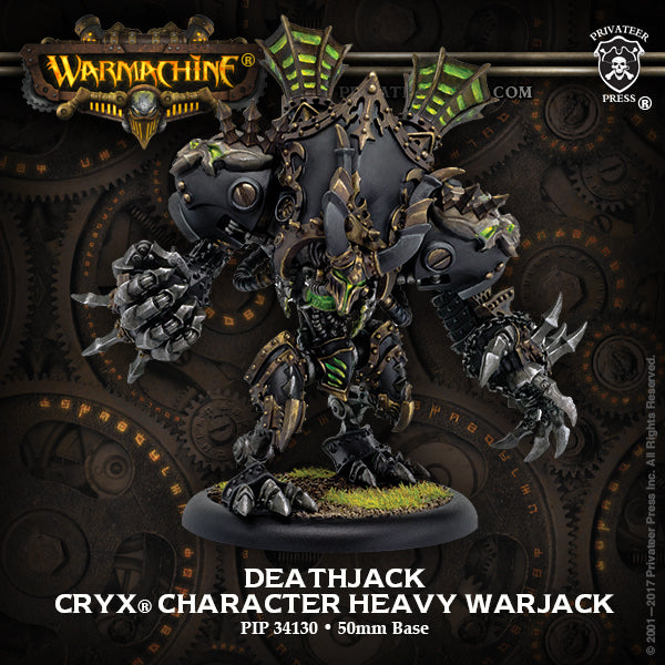 Warmachine Cryx Deathjack