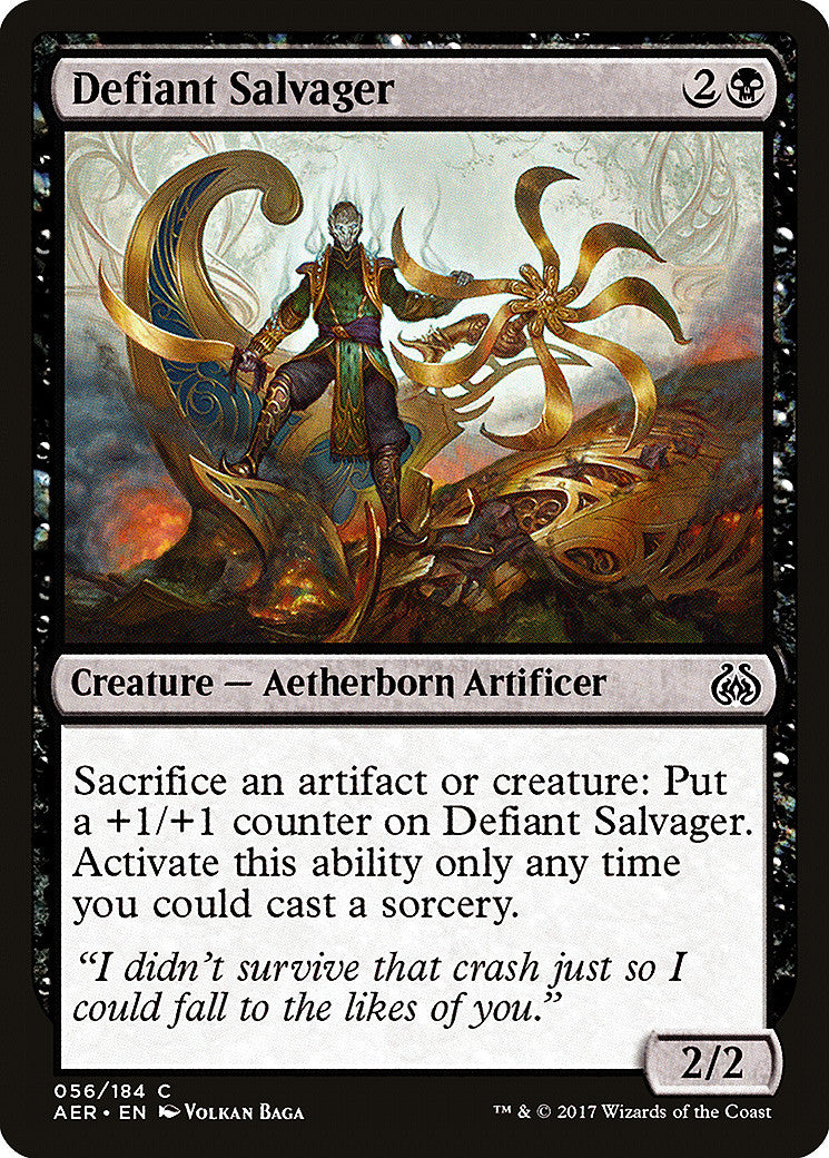 Aether Revolt Defiant Salvager