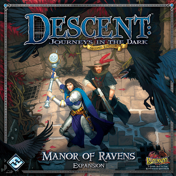Descent 2nd Edition Manor Of Ravens Expansion