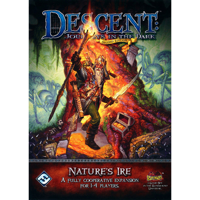 Descent 2nd Edition Nature's Ire Expansion