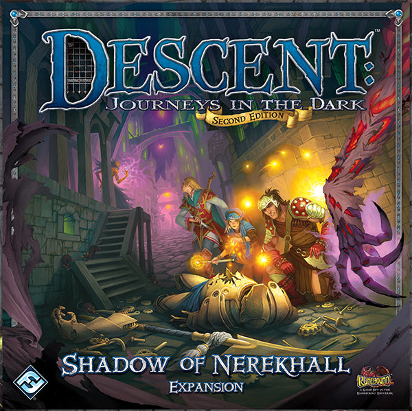 Descent 2nd Edition Shadow Of Nerekhall Expansion