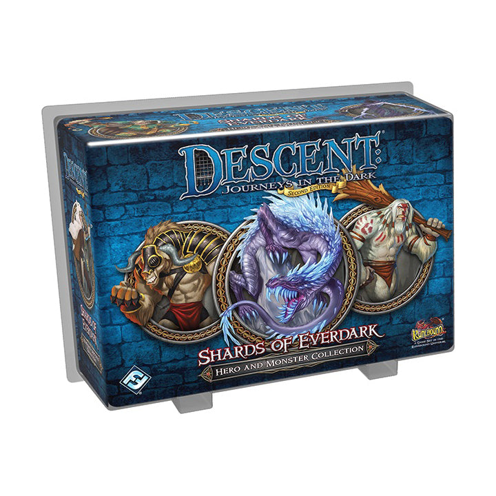 Descent 2nd Edition Shards Of Everdark Hero and Monster Collection