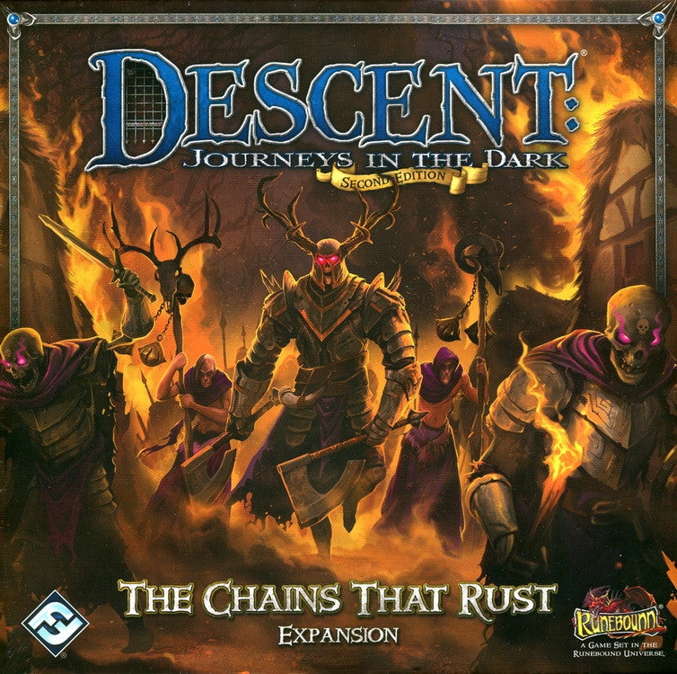 Descent 2nd Edition The Chains That Rust Expansion