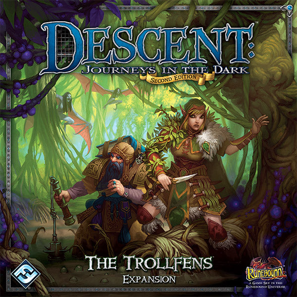 Descent 2nd Edition The Trollfens Expansion