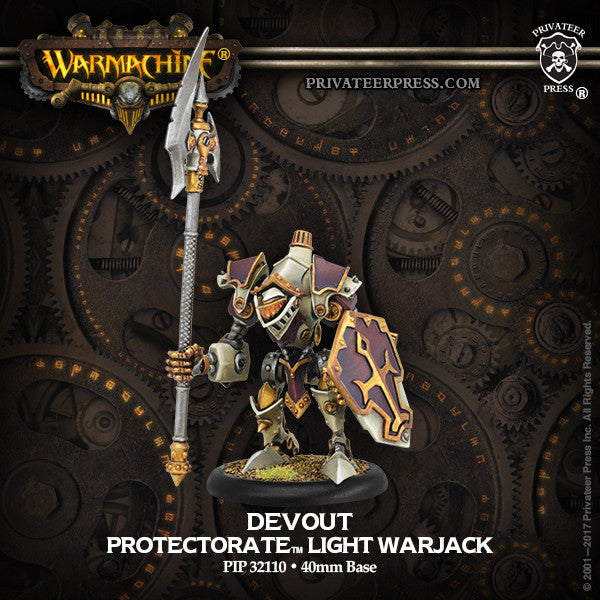 Warmachine Proctectorate of Menoth Devout
