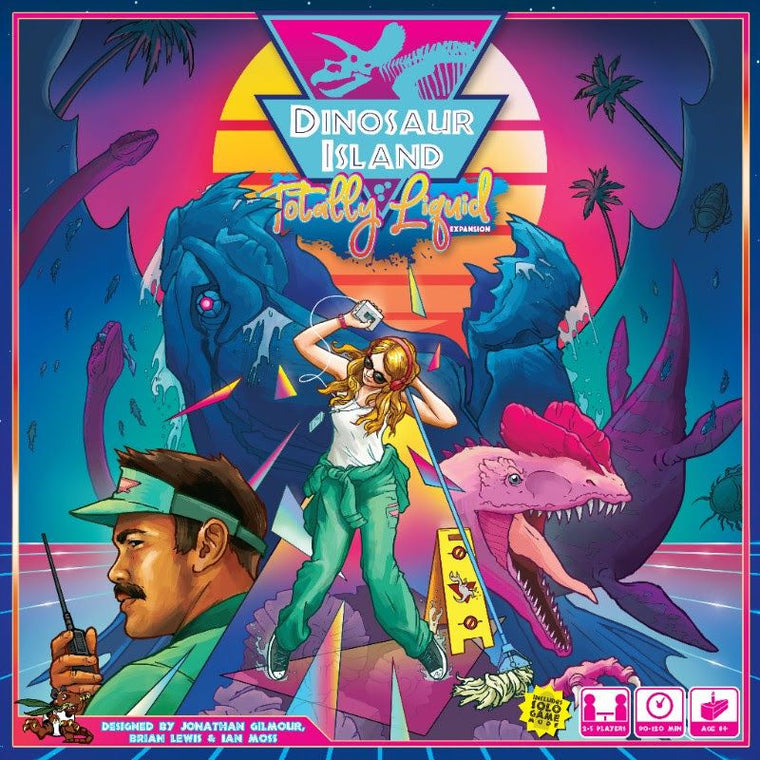 PRE-ORDER Dinosaur Island Totally Liquid
