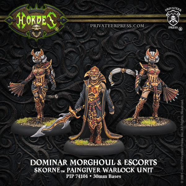 Hordes Skorne Dominar Morghoul and Escorts