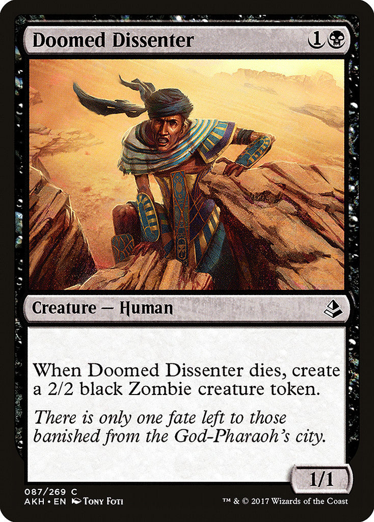 Amonkhet Doomed Dissenter