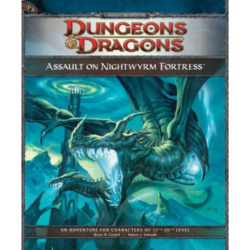 Dungeons & Dragons 4th Edition Assault on Nightwyrm Fortress