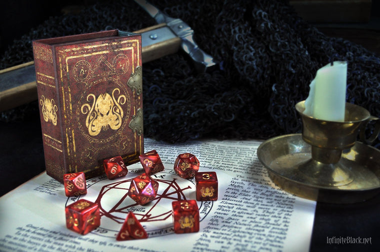 Elder Dice Cthulhu 9 Polyhedral Dice
