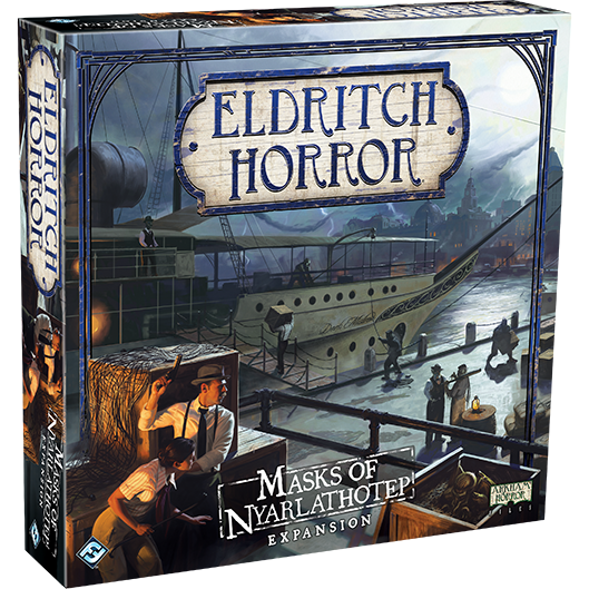Eldritch Horror Masks of Nyarlathotep