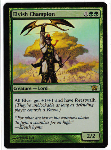 8th Edition Elvish Champion FOIL