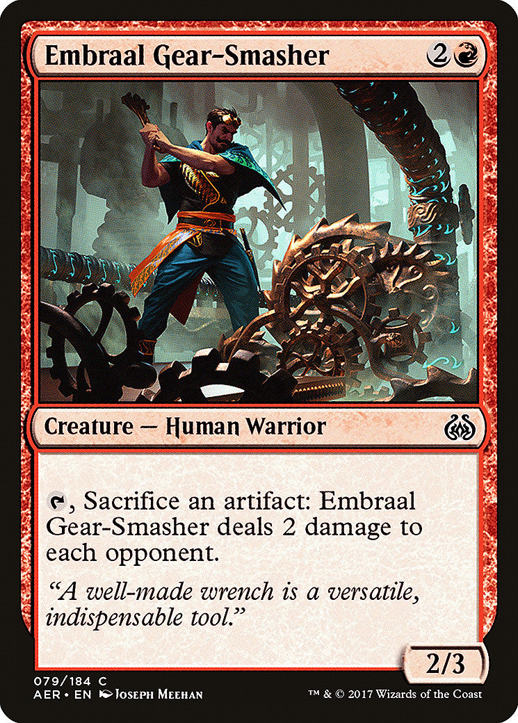 Aether Revolt Embraal Gear Smasher
