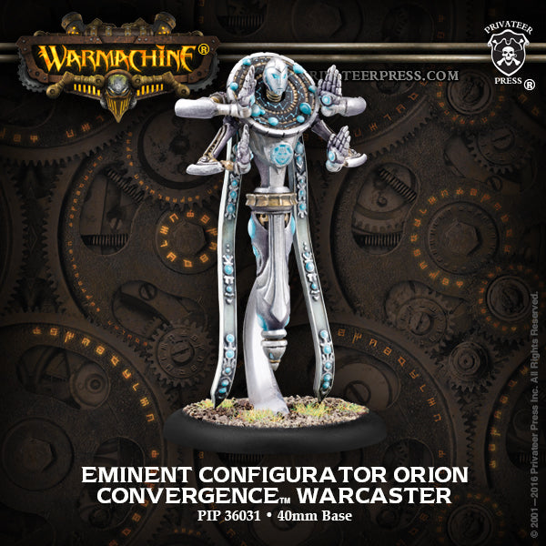 Warmachine Convergence of Cyriss Eminent Configurator Orion
