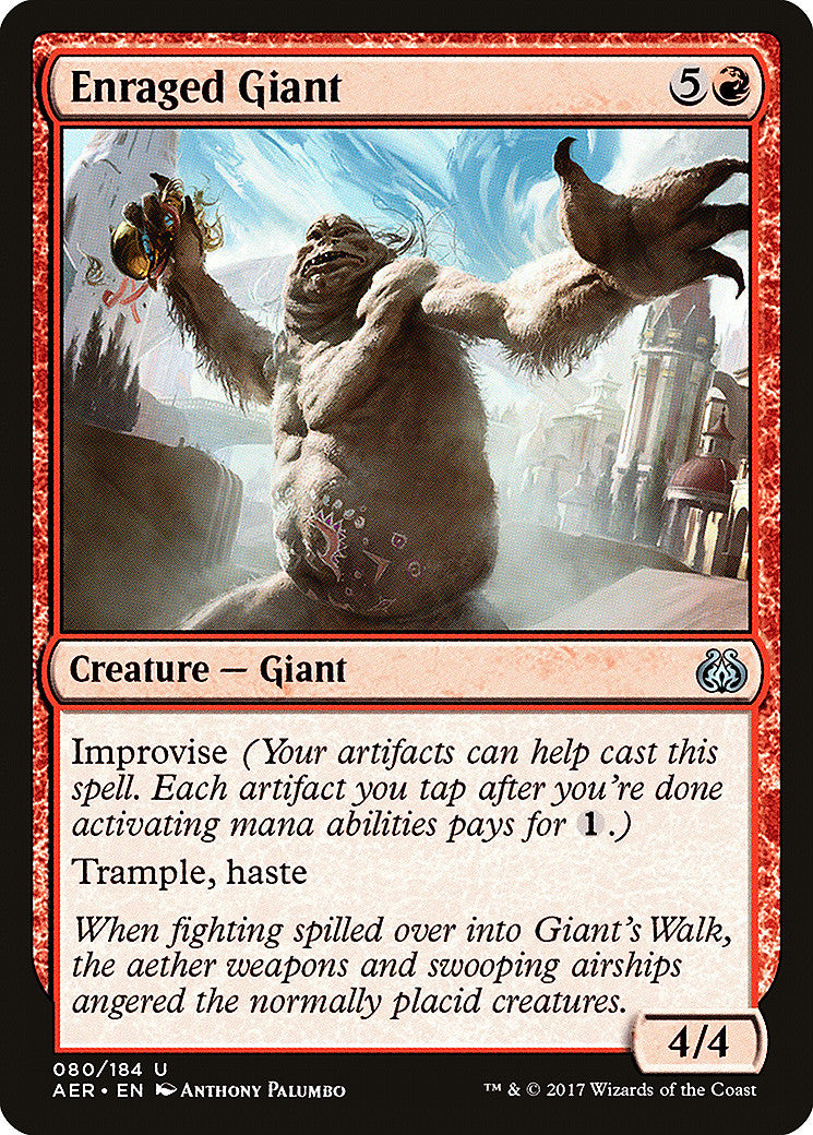 Aether Revolt Enraged Giant