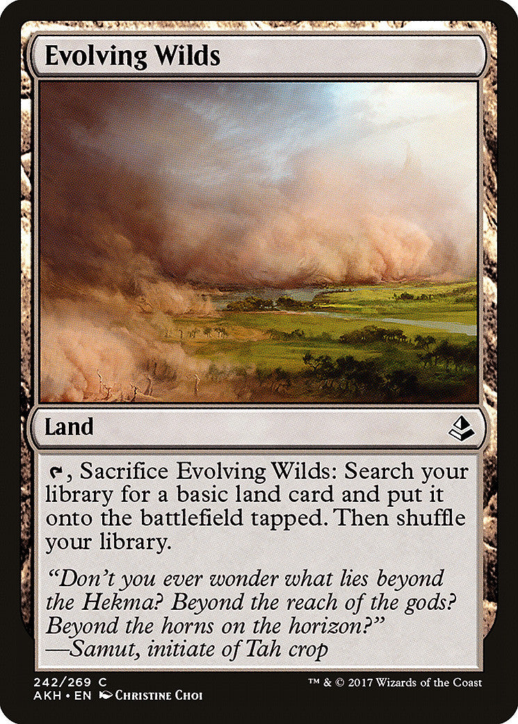 Amonkhet Evolving Wilds