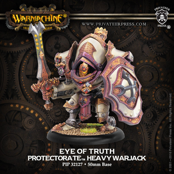 Warmachine Protectorate of Menoth Eye of Truth