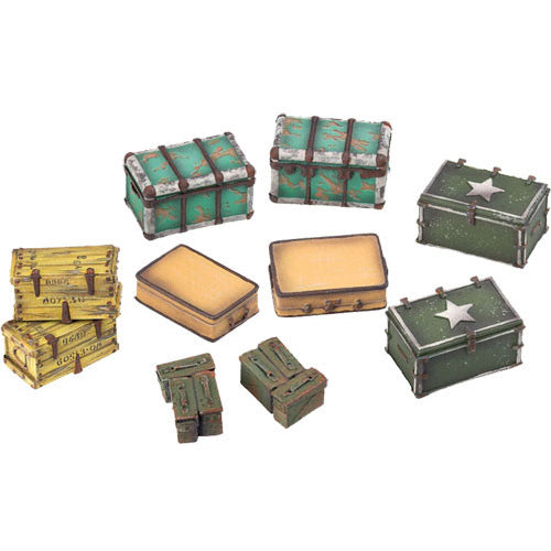 Fallout: Wasteland Warfare - Cases and Crates