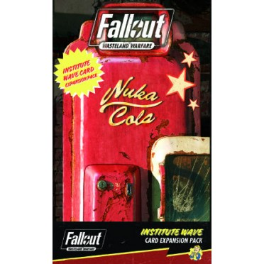 Fallout: Wasteland Warfare – Institute Wave Card Game Expansion Pack