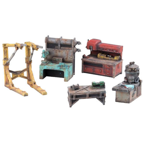 Fallout: Wasteland Warfare - Terrain Workbenches