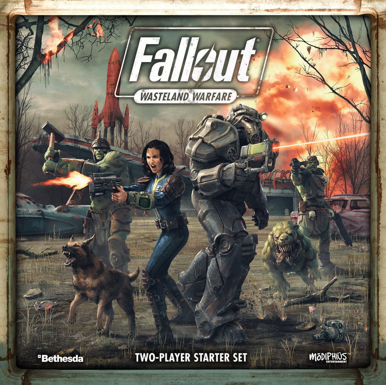 PRE-ORDER Fallout Wasteland Warfare 2 Player Core Set