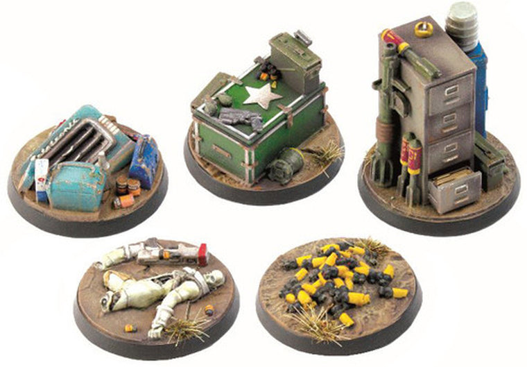 Fallout: Wasteland Warfare – Experience Objective Markers 2