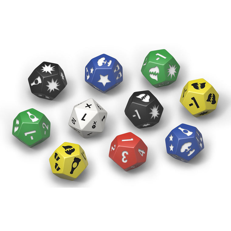 Fallout Wasteland Warfare Extra Dice Set