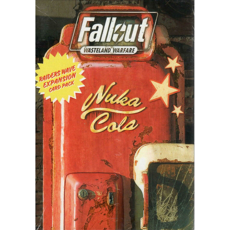 Fallout: Wasteland Warfare – Raiders: Wave Expansion Card Pack