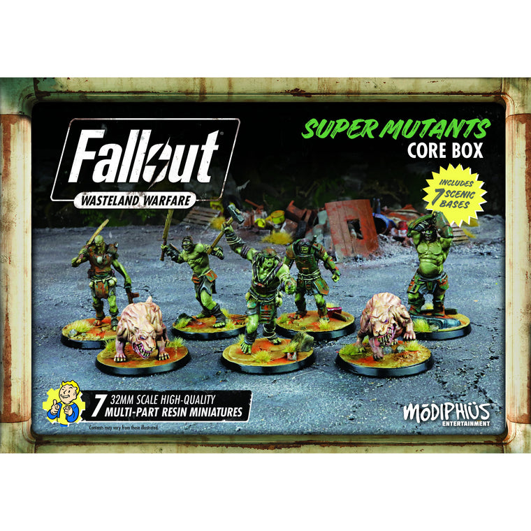 Fallout Wasteland Warfare Super Mutants Core Box