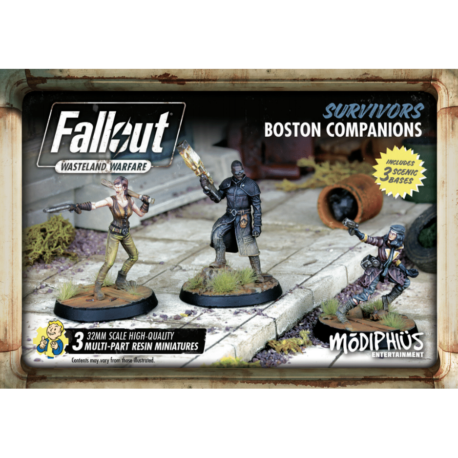 Fallout Wasteland Warfare Survivors Boston Companions Set