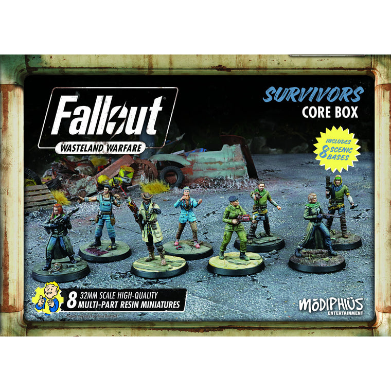 Fallout Wasteland Warfare Survivors Core Box
