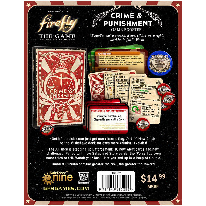 Firefly The Game Crime & Punishment