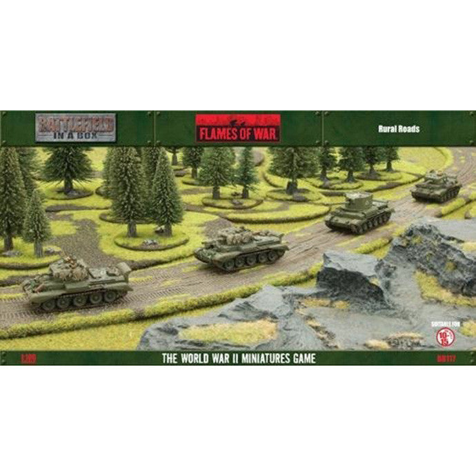 Flames of War Rural Roads Battlefield in a Box