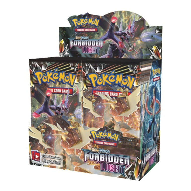 Pokémon Sun & Moon Forbidden Light Booster Box