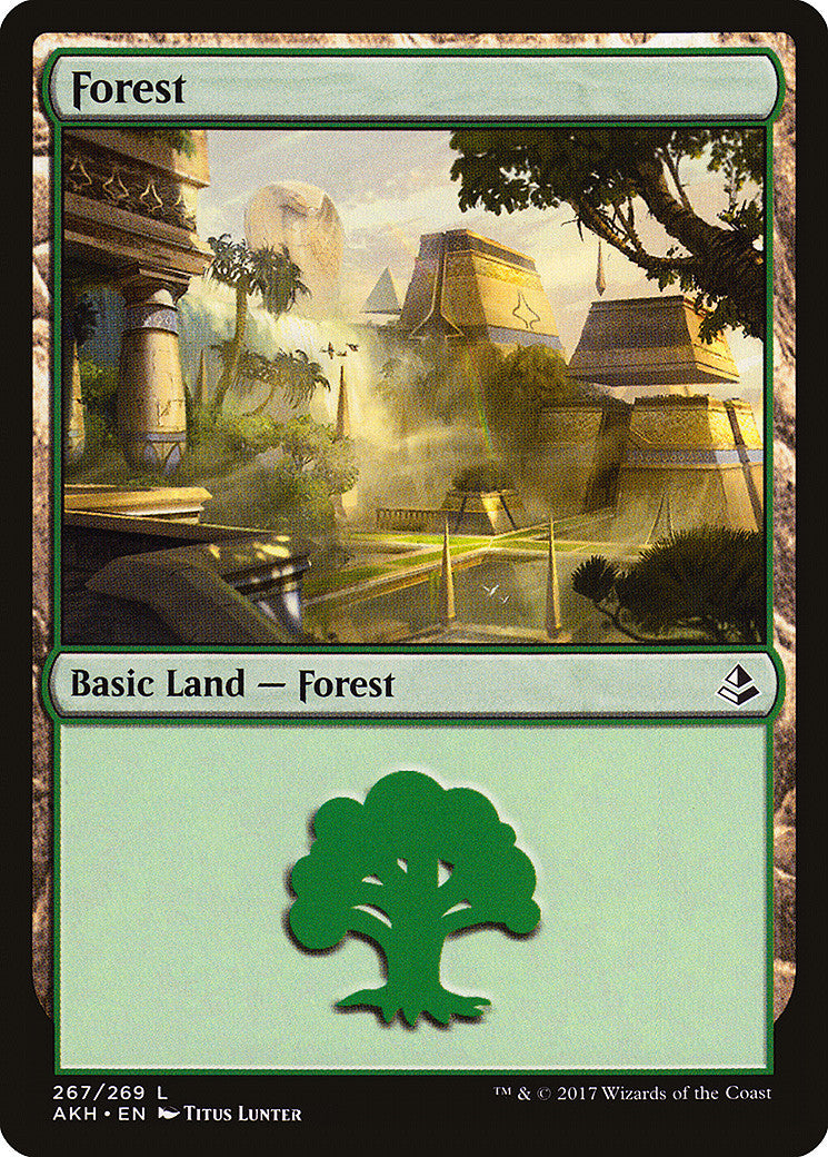 Amonkhet Forest (267)
