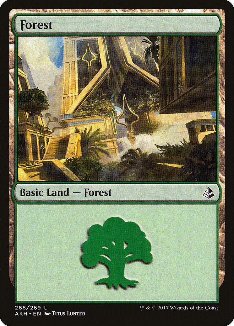 Amonkhet Forest (268)