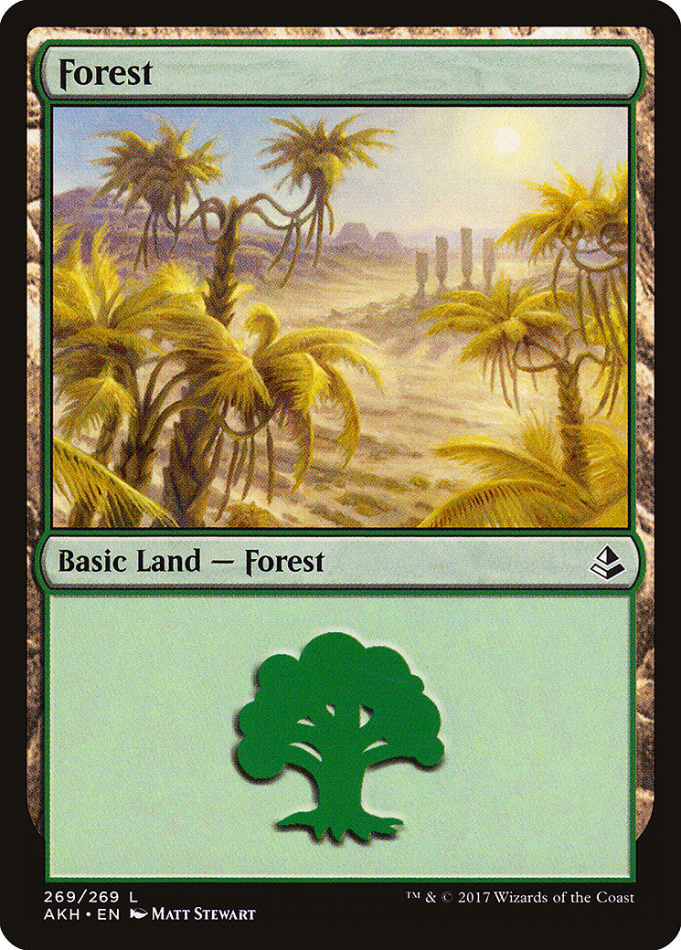 Amonkhet Forest (269)