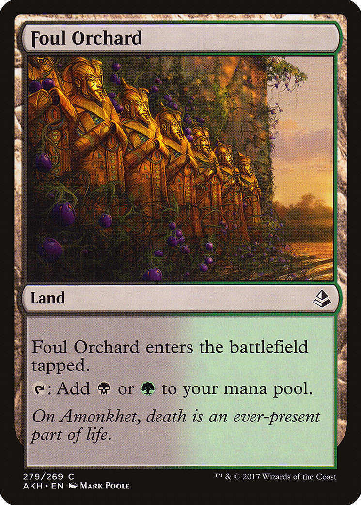 Amonkhet Foul Orchard