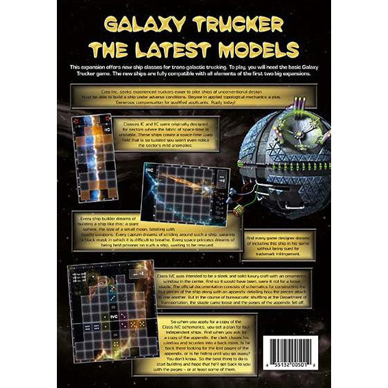 Galaxy Trucker The Latest Models