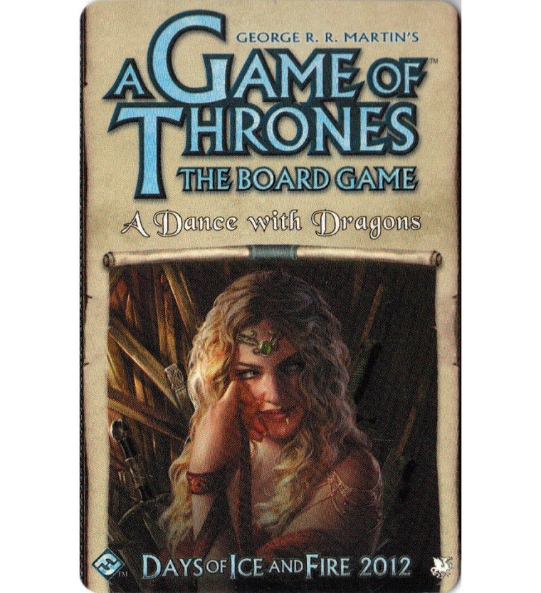 A Game of Thrones 2nd Edition A Dance with Dragons
