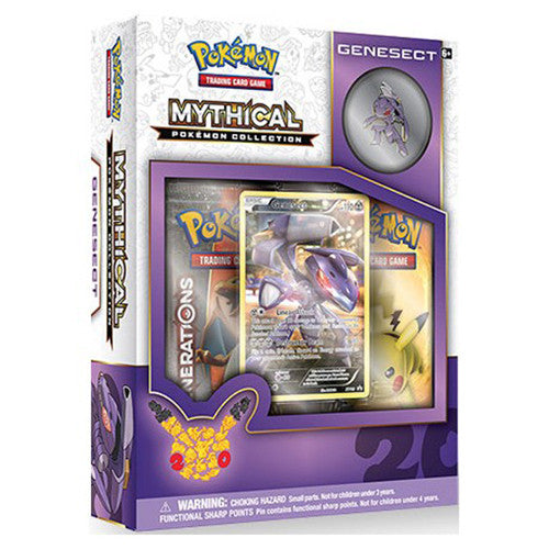 Pokémon Genesect Mythical Collection