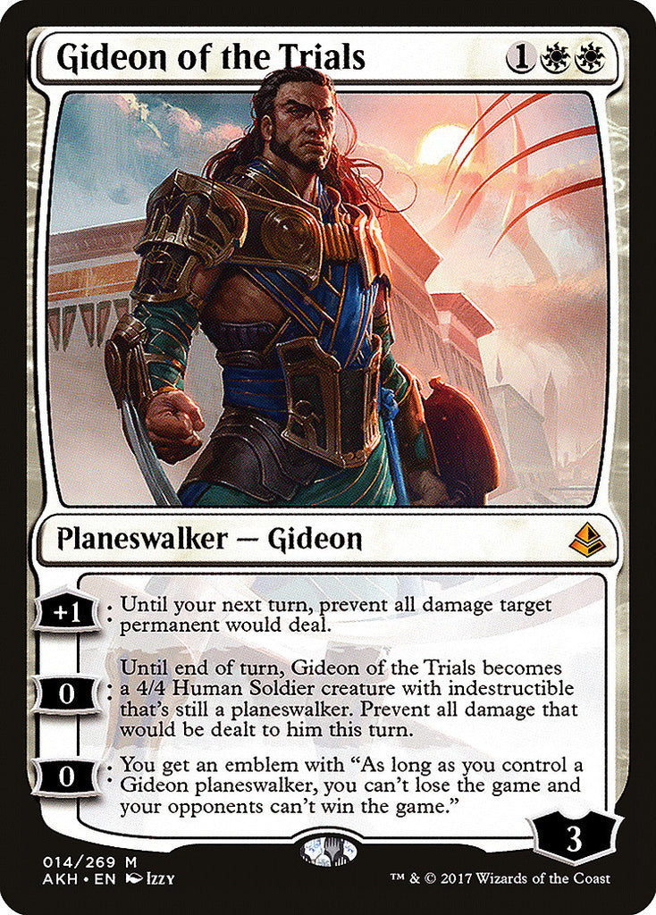 Amonkhet Gideon of the Trials