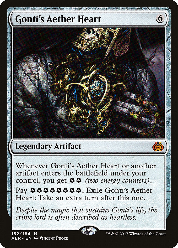 Aether Revolt Gonti's Aether Heart