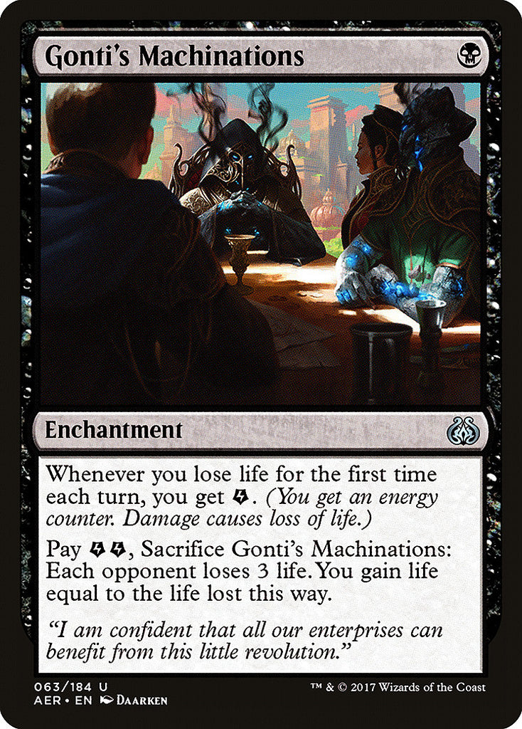 Aether Revolt Gonti's Machinations