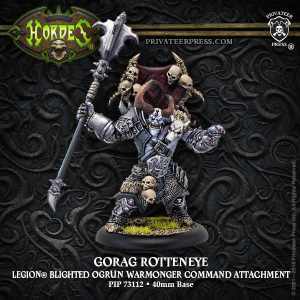 Hordes Legion of Everblight Gorag Rotteneye