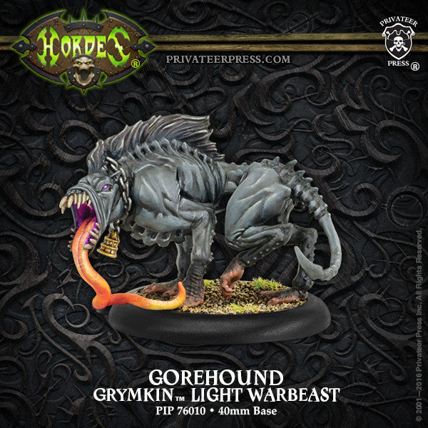 Hordes Grymkin Gorehound Light Warbeast