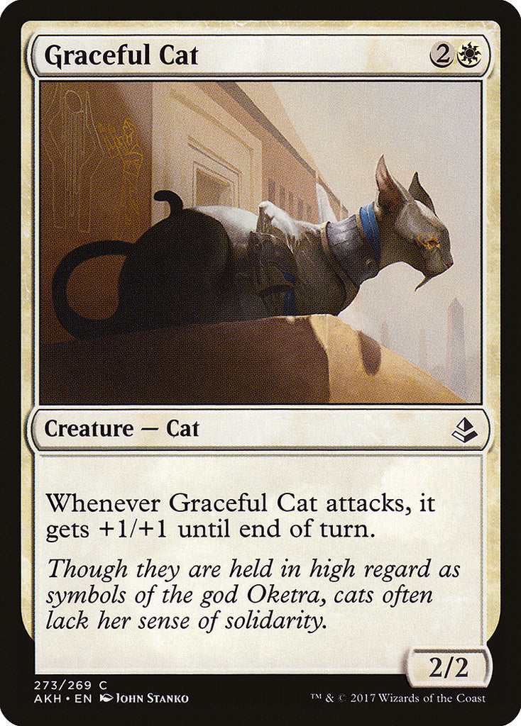Amonkhet Graceful Cat