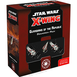 Star Wars X-Wing Second Edition Guardians of the Republic Squadron Pack