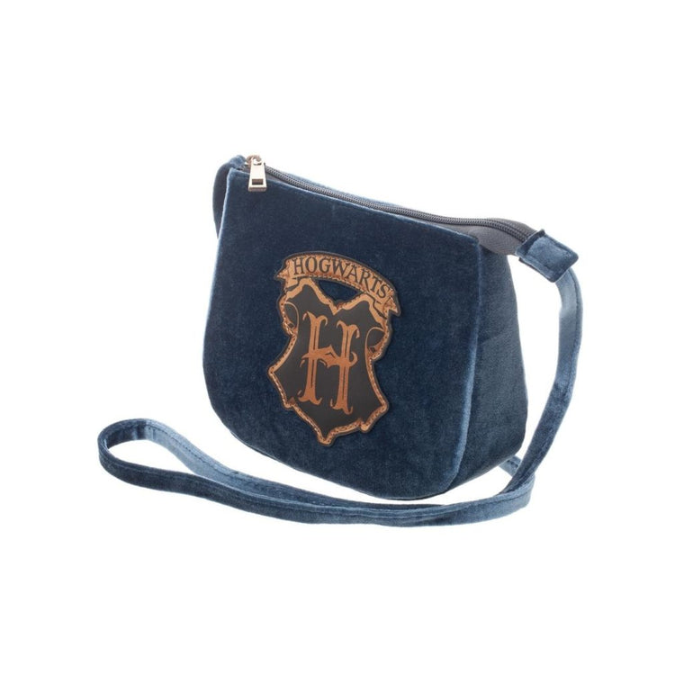 Harry Potter - Velvet Crossbody with Hogwarts Crest Bag